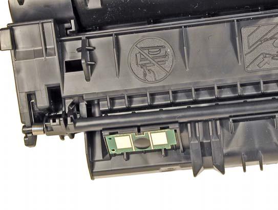 Hp q7553x заправка картриджа